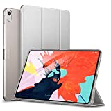 ESR iPad Pro 11 ケース 2018年秋モデルデザインにピッタリマッチ iPad Pro 11 カバー 軽量 薄型 レザー 三つ折スタンド オートスリープ機能 スマートカバー 全4色 2018年秋発売のiPad Pro 11インチ 対応(グレー)