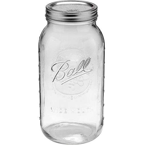 BALL メイソンジャー [ ワイドマウス 2000ml クリア ] Mason jar WIDE MOUTH 正規品