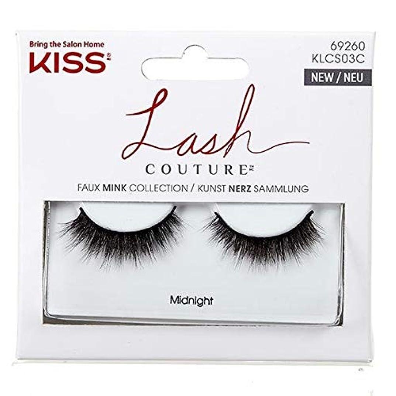 ダイエット振る優しい[Kiss ] 偽まつげクチュールSingles-真夜中のキス - Kiss False Lashes Couture Singles- Midnight [並行輸入品]