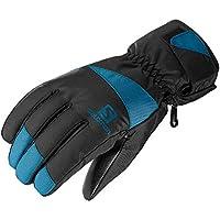 サロモン(SALOMON) スキーグローブ FORCE M Black/MOROCCAN BLUE (フォース) L40421000 M