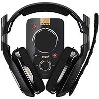 ASTRO アストロ A40 TR ゲーミングヘッドセット + MixAmp Pro TR ミックスアンプ ブラック 国内正規品 2年間無償保証 A40TR-MAP PS4/PC/MAC/Nintendo Switch