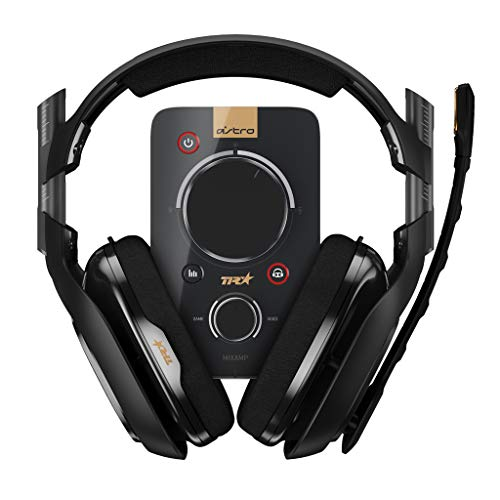 ASTRO アストロ A40 TR ゲーミングヘッドセット + MixAmp Pro TR ミックスアンプ ブラック 国内正規品 2年間無償保証 A40TR-MAP PS4/PC/MAC/Nintendo Switch