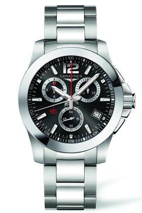[ロンジン] LONGINES 腕時計 コンクェスト L3.700.4.56.6 メンズ [正規輸入品]