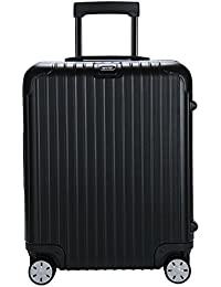 (リモワ)RIMOWA サルサ 834.56 83456 キャビンマルチホイール 4輪 スーツケース ブラック CABIN MULTIWHEEL 52L (810.56.32.4)並行輸入品 [並行輸入品]