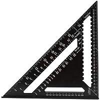 Cocal 三角測定 定規 屋根裏 木工用定規 プロトラクター 12インチ レイアウトツール