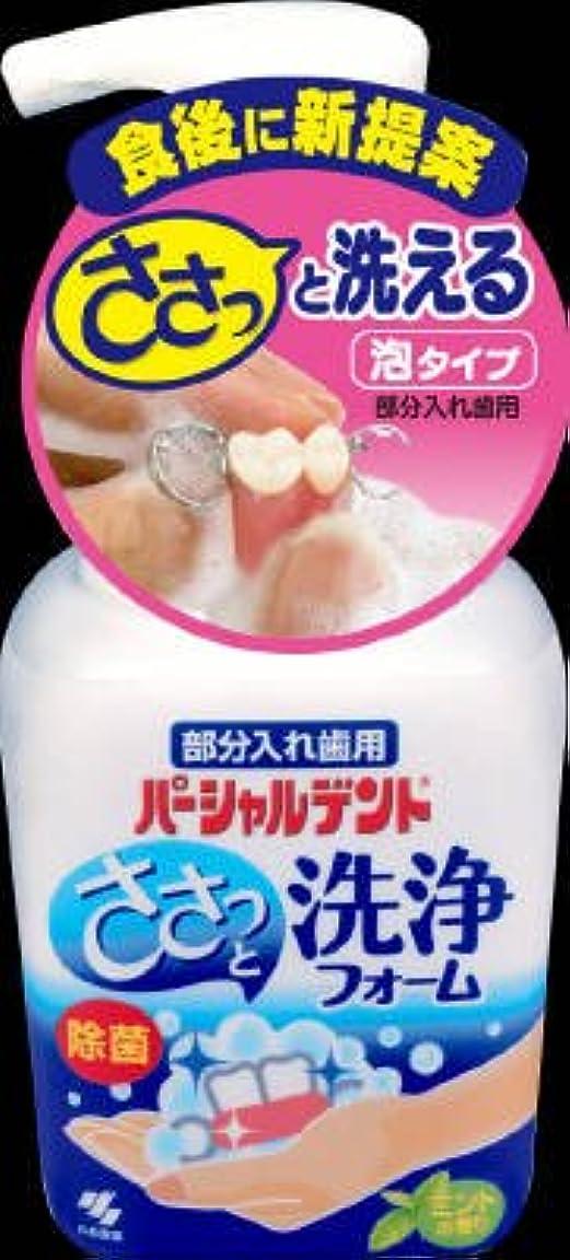 の中で母性しゃがむ小林製薬 パーシャルデント 洗浄フォーム 250ml×24点セット (4987072072837)