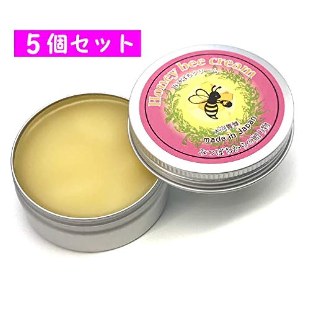 魅力的盲目批判大河養蜂 みつろうクリーム 5個セット (30g×5) ラベンダーオイル配合 全身保湿クリーム 赤ちゃんクリーム 美白ケア 肌荒れ対策 スキンケア ナイトクリーム みつばちクリーム (5個セット)