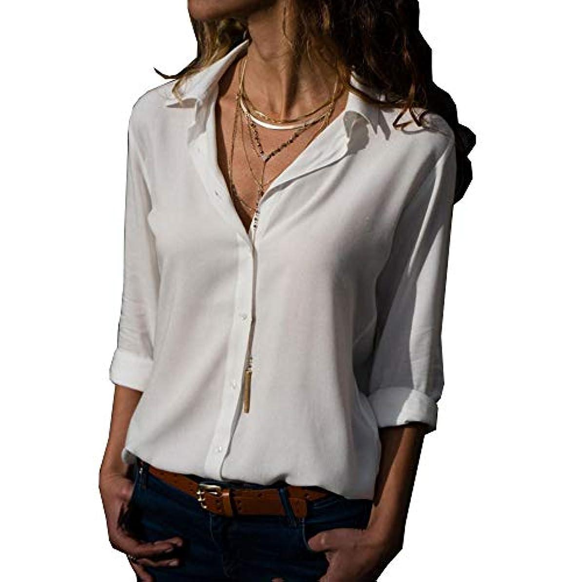 絶え間ない大陸困惑MIFAN ルーズシャツ、トップス&Tシャツ、プラスサイズ、トップス&ブラウス、シフォンブラウス、女性トップス、シフォンシャツ