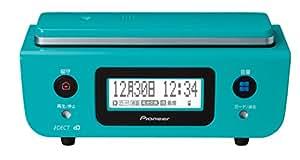 Pioneer デジタルコードレス電話機 親機のみ 迷惑電話対策・留守番・ナンバーディスプレイ機能搭載 ターコイズブルー TF-FD31S-A
