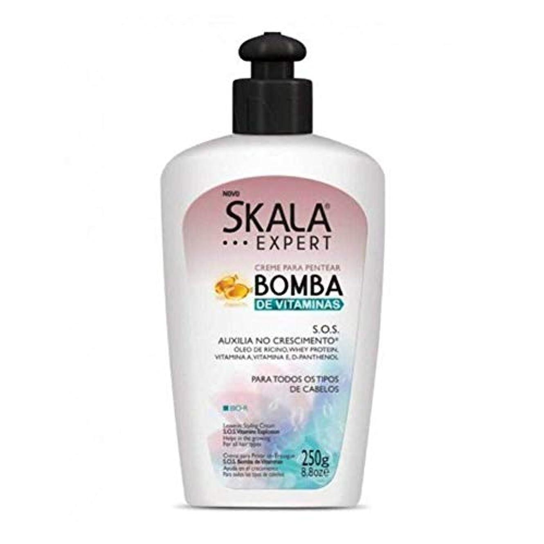 墓無人平らなSkala Expert S.O.S スカラ エキスパート SOS ビタミン成分配合 スタイリング剤 250g