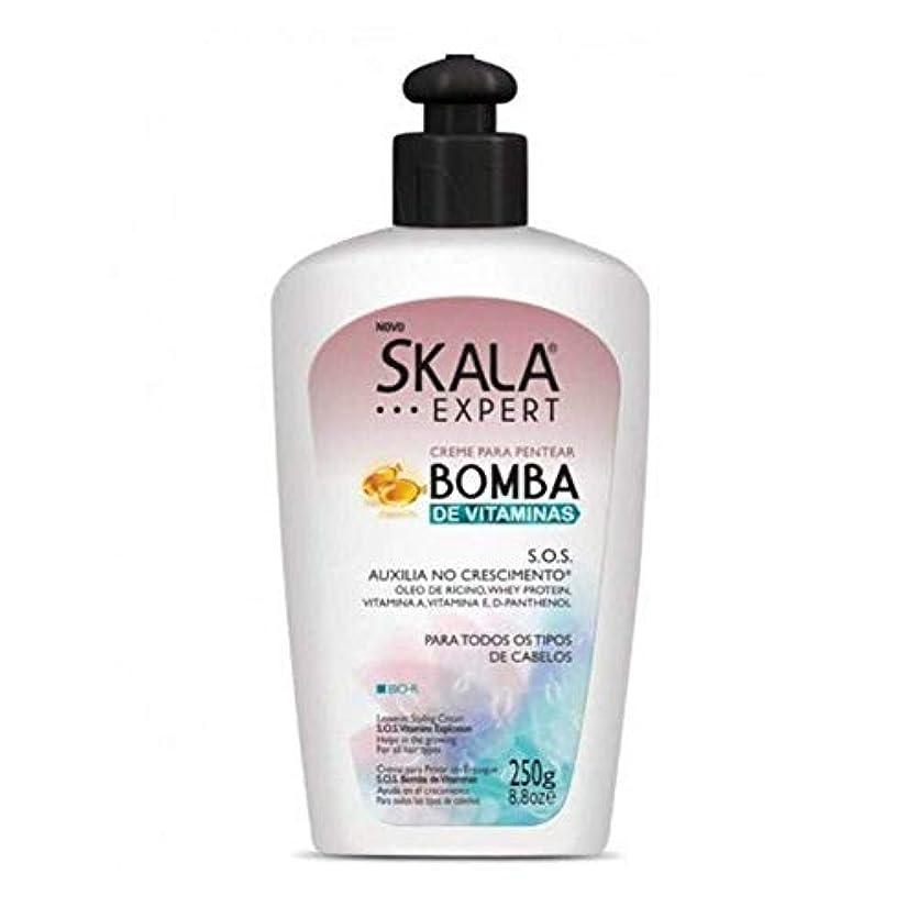 消去有能な天のSkala Expert S.O.S スカラ エキスパート SOS ビタミン成分配合 スタイリング剤 250g