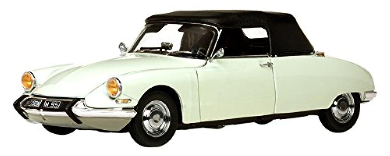 サンスター 1/18 シトロエン DS19 コンバーチブル 1961 ブラック/ホワイト 完成品