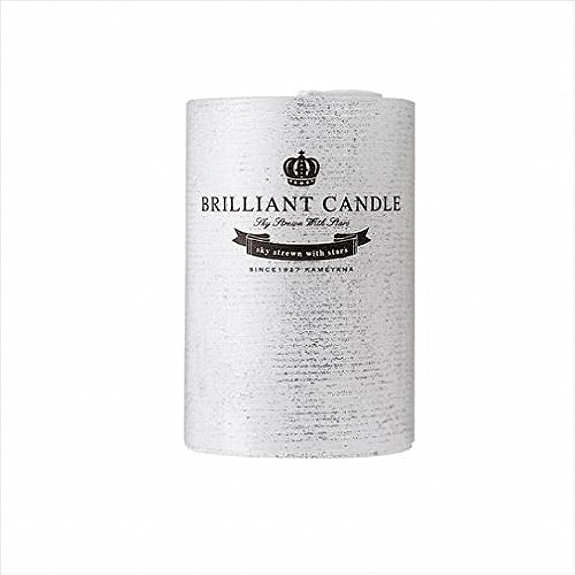 胃周り繁栄カメヤマキャンドル(kameyama candle) ブリリアントピラー2×3 「 パール 」