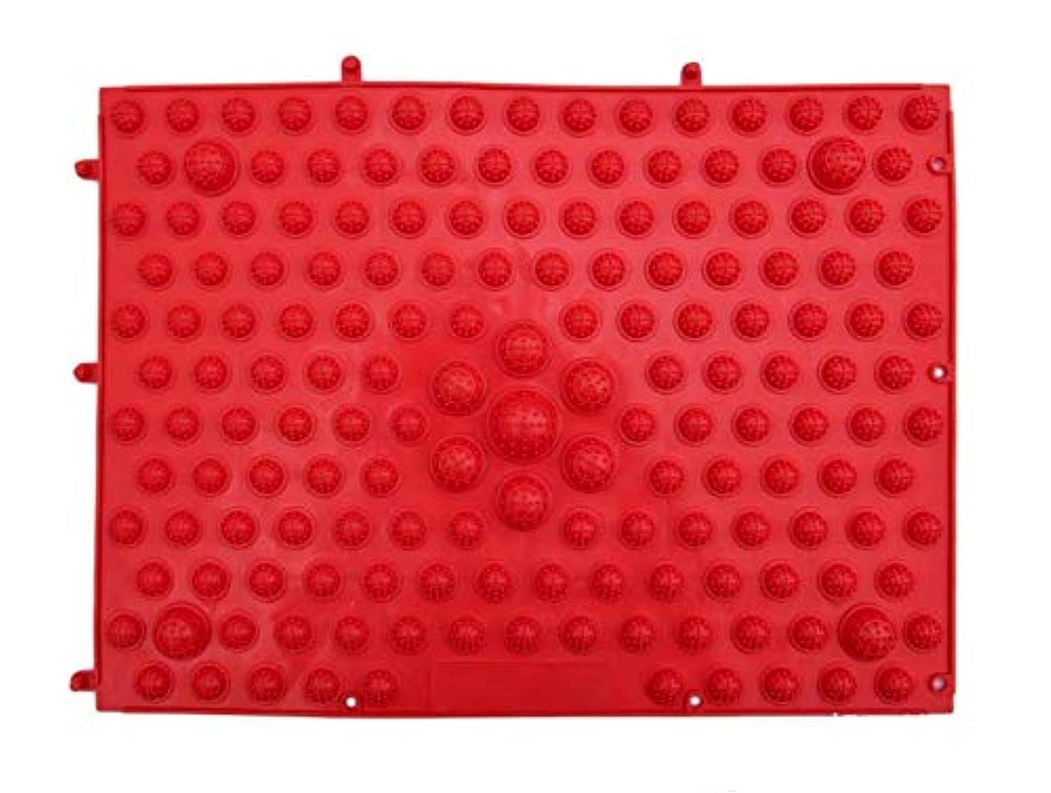 レイ抗議ガイドBodyBooster フットマッサージャー 家庭用&職場用 贈り物 (赤い)