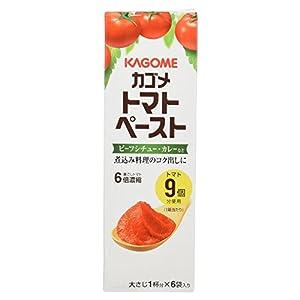 カゴメ トマトペーストミニパック 6袋入