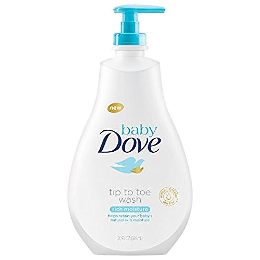 委員会なに作成するDove Baby Tip to Toe Wash リッチ水分、20オンス(2パック)