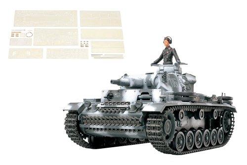 スケール限定シリーズ 1/35 ドイツ III号戦車 N型 (アベール社製エッチングパーツ/金属砲身付き) 25159