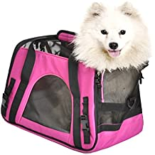Brightdeal Airline Approved Pet Carrier Under Seat Soft Sided for Dogs Cats Small Puppies Airline Travel Handbag Shoulder Bag