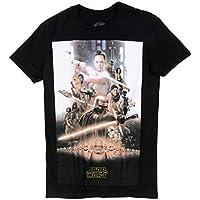 Mandarin Black Star Wars The Rise of Skywalker Poster T Shirt - 70s Movie Tees