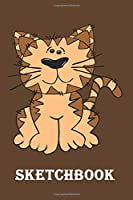 """Sketchbook: kitten sketchbook,kitten gift for teens, kitten gift for cat lover-120 pages(6""""x9"""") Matte cover Finish"""