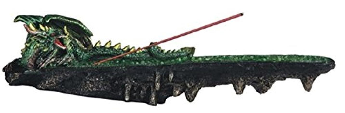 理容室確率手綱虹色LSMグリーン色ドラゴンResting香炉、10