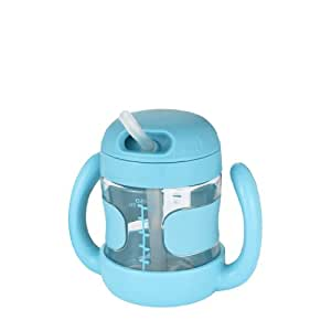 オクソー OXO Tot NEWハンドル付ストローカップ (アクア) ボトル ツインハンドル マグ FDOX6178202
