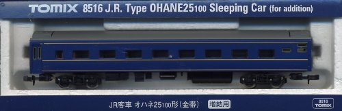 TOMIX Nゲージ 8516 オハネ25-100形 (金帯・増結用)