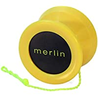 Yoyo King Yellow Merlin Professional Ball Bearing Axle Yoyo for Pro Tricks 【You&Me】 [並行輸入品]