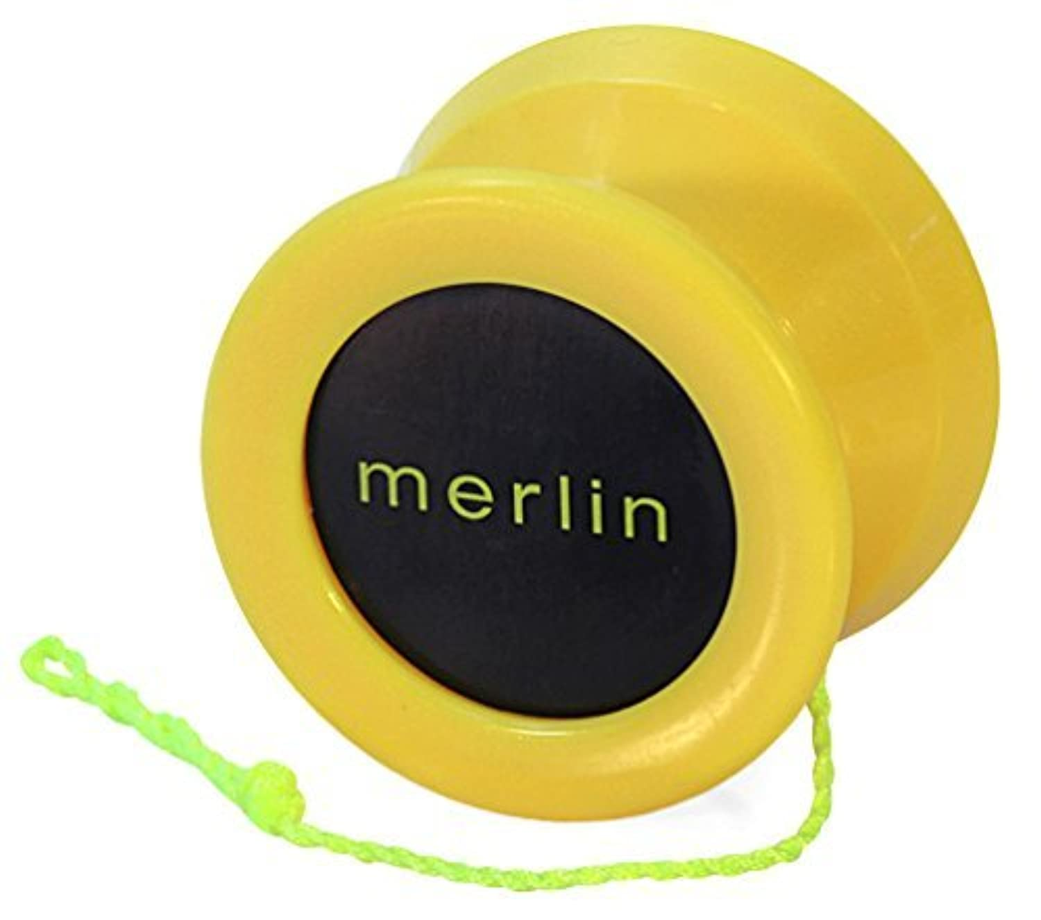 Yoyo King Yellow Merlin Professional Ball Bearing Axle Yoyo for Pro Tricks 【You&Me】 [並行輸入品]