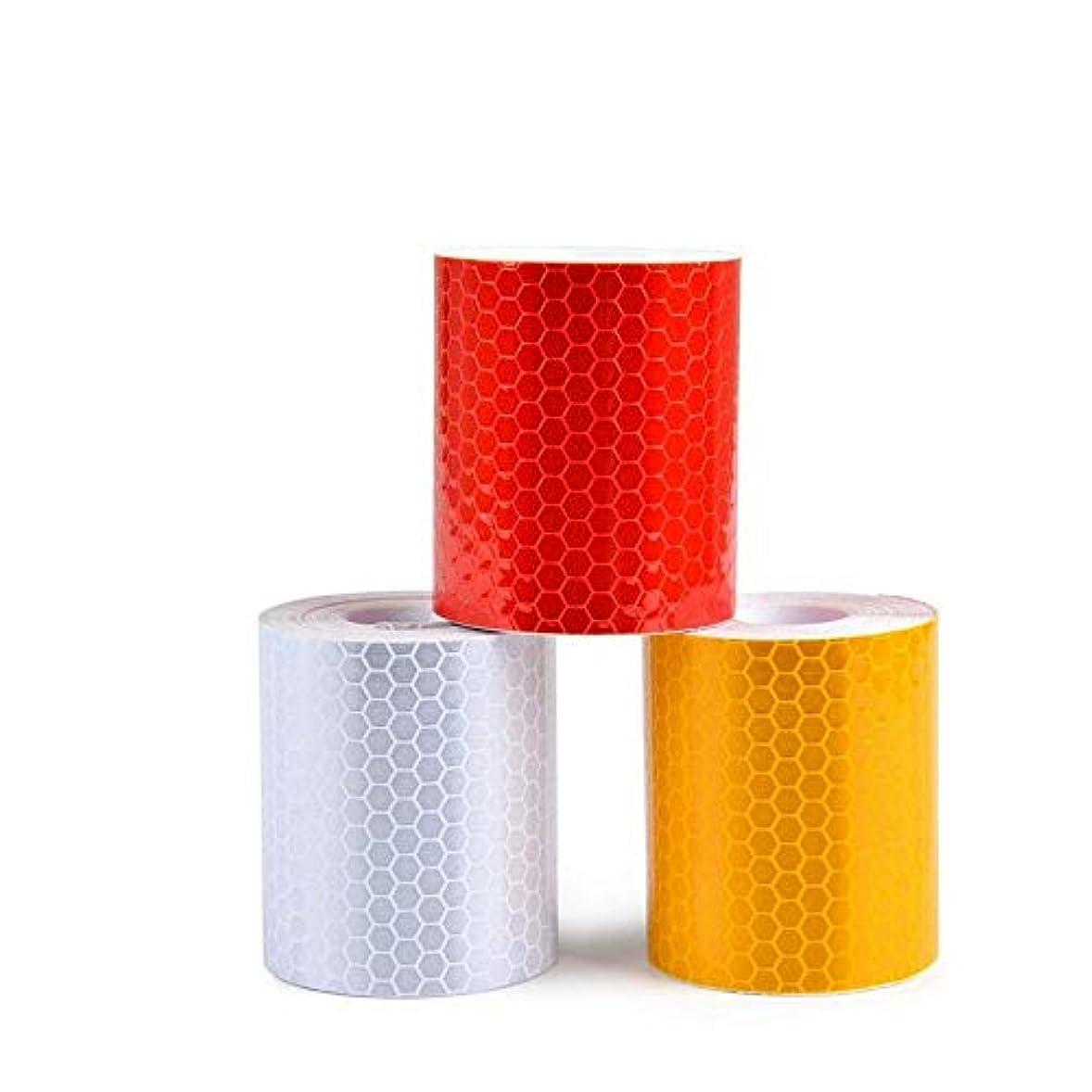 ポーズ佐賀コアリフレクティブテープステッカー高視認性安全警告テープ50mm×3m (色 : 3PCS)
