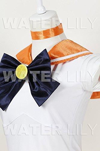 『セーラームーン 風 コスチューム 衣装 10点セットc328el (ヴィーナス 愛野美奈子 風 , Lサイズ)』の2枚目の画像