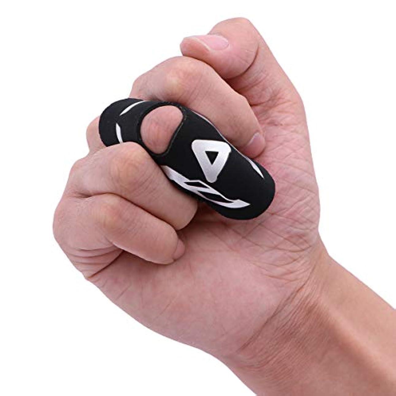 大統領領事館疑問に思うSUPVOX 指の添え木サポートトリガーマレット指ブレース腱痛みを和らげるサイズL/XL