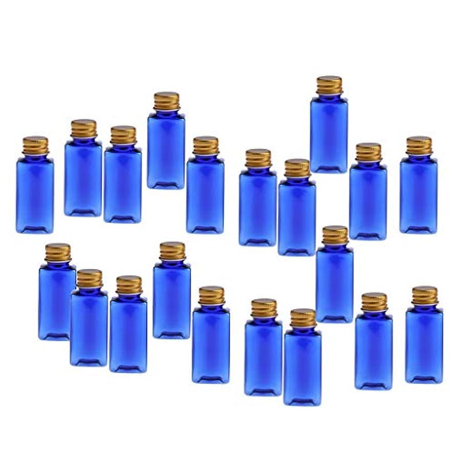 ライオネルグリーンストリートゴシップおかしい30ML 空のボトル 詰替え容器 PETボトル 化粧品 エッセンシャルオイル 香水 小分け 約20個 - ブルーゴールド