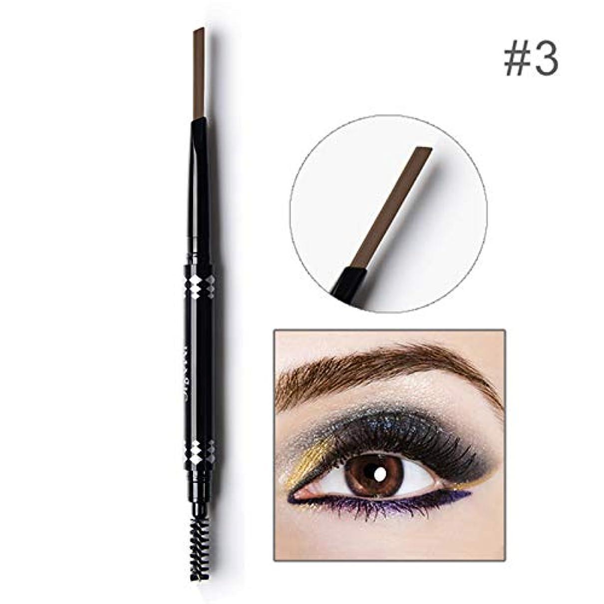 わなシェトランド諸島確認Symboat レディース アイブロウペンシル 化粧 自動眉ペンシル 防水 眉ブラシツール 日常化粧品 眉筆 上品 落ちにくい プロ仕様 初心者