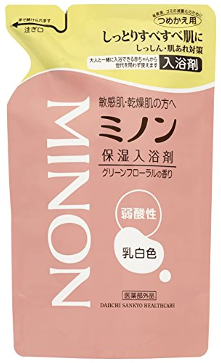 増幅復活するシュリンクミノン薬用保湿入浴剤 詰替 400mL