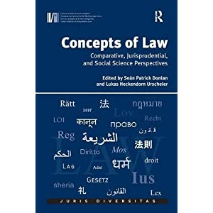 Concepts of Law: Comparative, Jurisprudential, and Social Science Perspectives (Juris Diversitas)