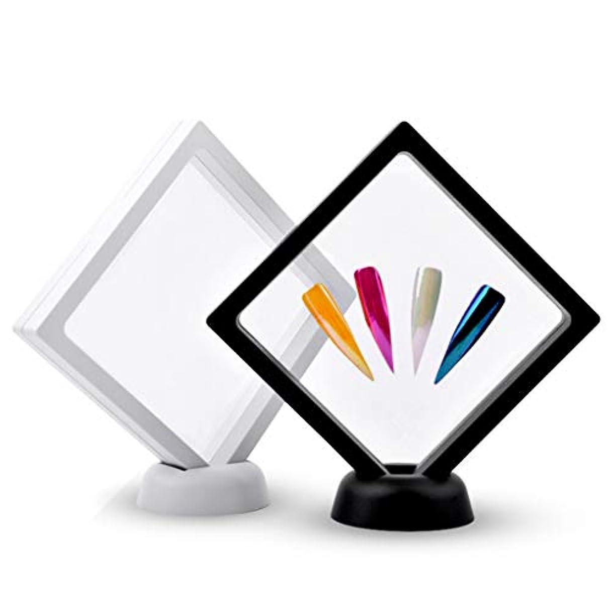フォアマン記憶評価可能2本 ネイルアートボード ネイルアート ディスプレイ 絵画用ボード DIY