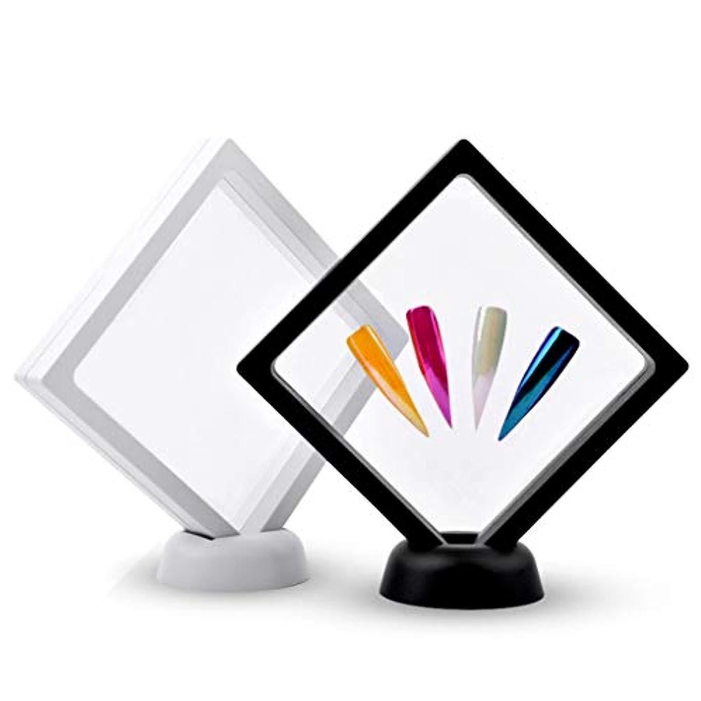 証拠好ましいシミュレートするP Prettyia 2本 ネイルアートボード ネイルアート ディスプレイ 絵画用ボード DIY