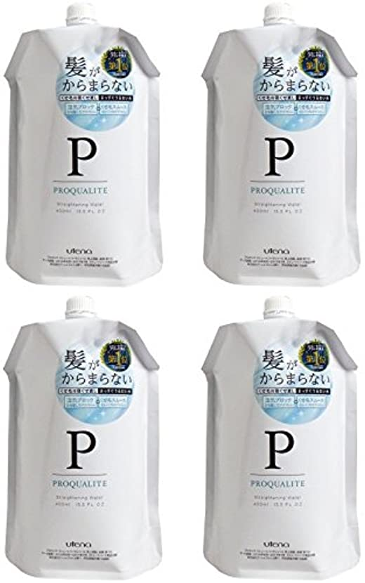 【まとめ買い】プロカリテ まっすぐうるおい水(つめかえ用)【×4個】