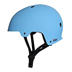 Vihir スポーツヘルメット アイススケート スケートボード 自転車 保護用ヘルメット サイズ調整可能 子供大人兼用 全4色
