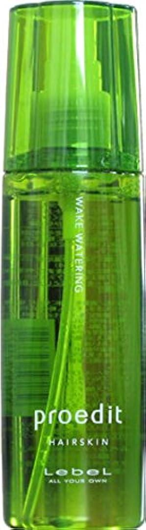 金属安定エリートLebel ルベル プロエディット ヘアスキン ウェイク ウォータリング 120ml 【WAKE WATERING】