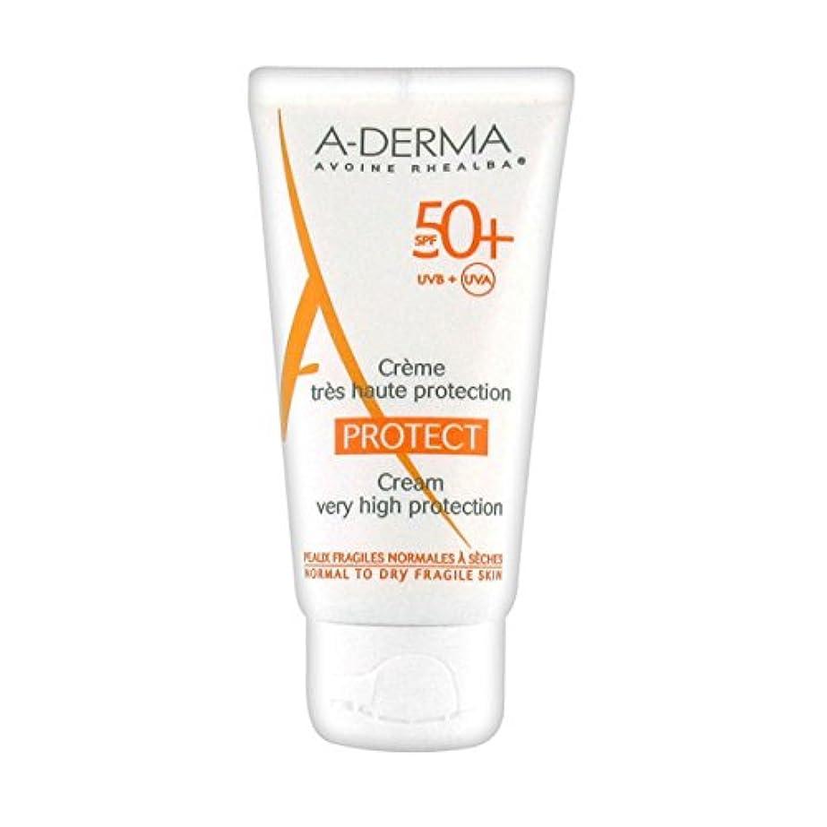 義務づけるダイアクリティカル繰り返すA-derma Protect Cream Sfp50+ 40ml [並行輸入品]