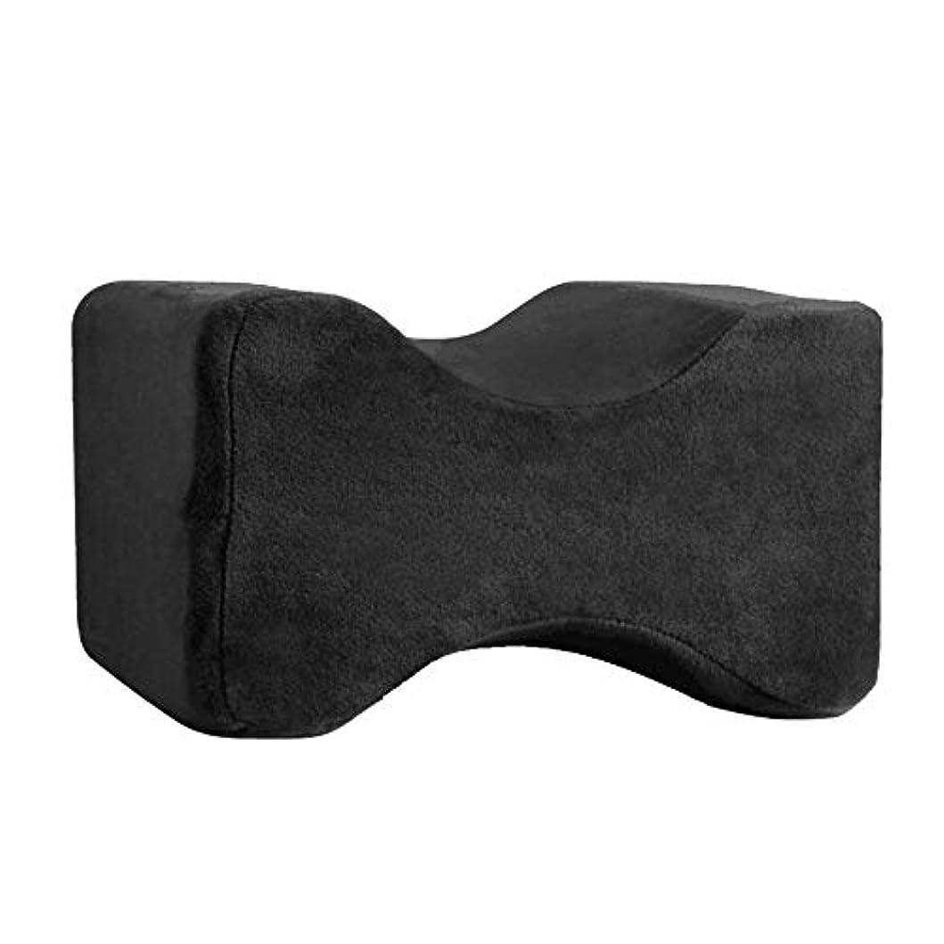 申し立てる四半期糞ソフト枕膝枕クリップ足低反発ウェッジ遅いリバウンドメモリ綿クランプマッサージ枕用男性女性