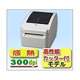 【東芝 テック TEC 製】ラベル バーコード プリンタ B-EV4D-TC27-R 300dpi 感熱式 高性能カッター付き