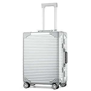 (アスボーグ)ASVOGUE スーツケース キャリーケース TSAロック 旅行 出張 便利 8輪 超軽量 ボーダー 機内持込可