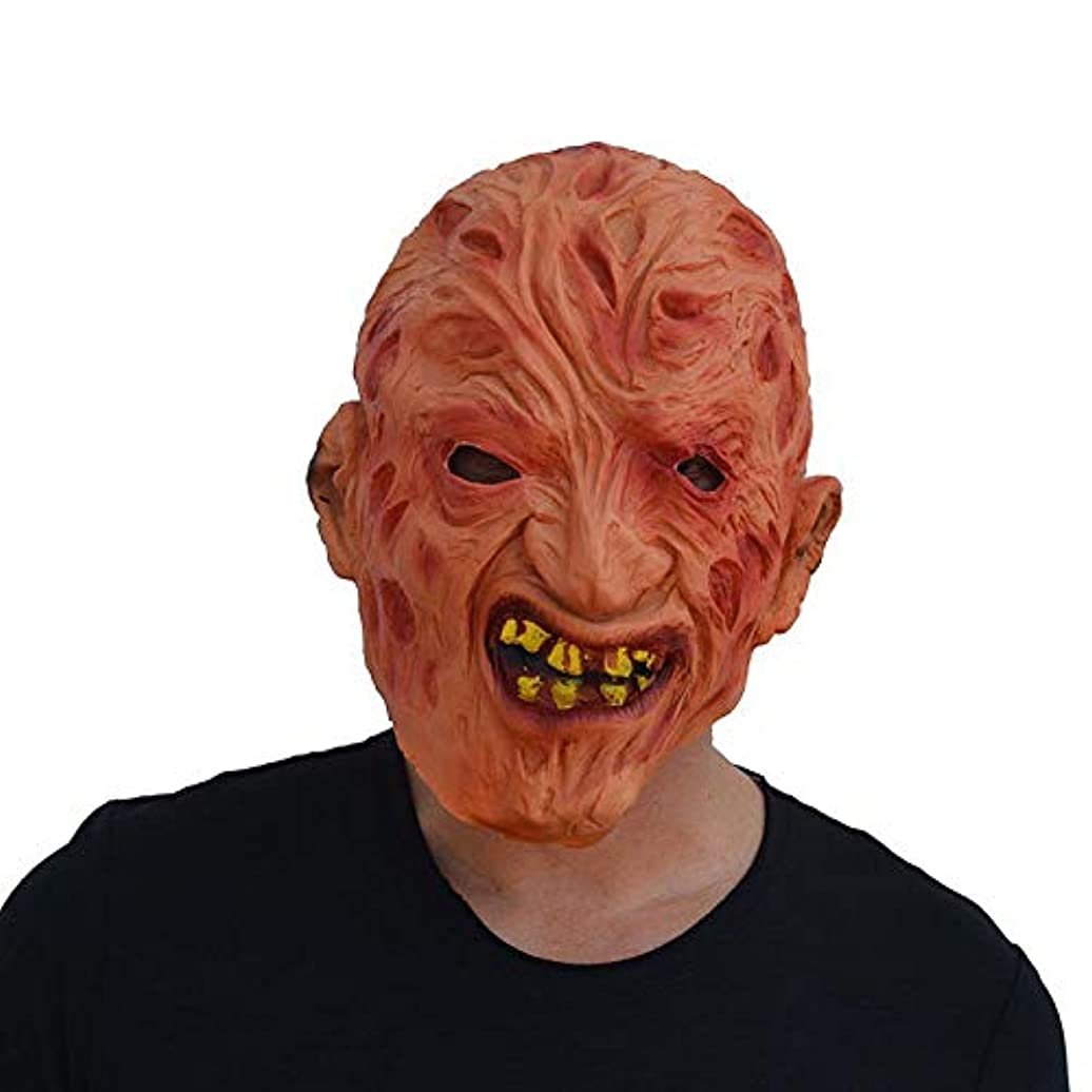没頭するまっすぐ愛人ハロウィンホラー腐った顔ゾンビマスクゴーストフェスティバルナイトクラブレイブパーティーマスク