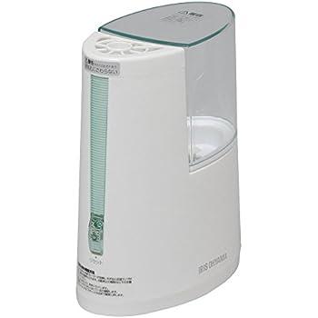 アイリスオーヤマ 加湿器 加熱式 アロマ対応 グリーン SHM-100U