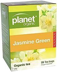 Planet Organic Jasmine Green Tea 25 Teabags
