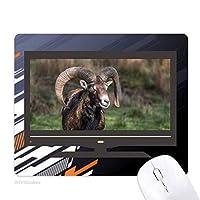 羊の林業科学自然 ノンスリップラバーマウスパッドはコンピュータゲームのオフィス