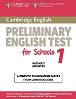 cambridge preliminary english test for schools 1 without answers (PET Practice Tests)